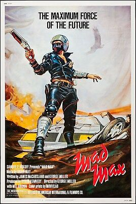 A0 A1 A2 A3 poster print for glass frame vintage art painting Mad Max movie