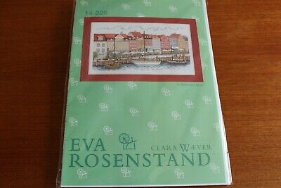 New Eva Rosenstad Embroidery Kit canal side includes all threads