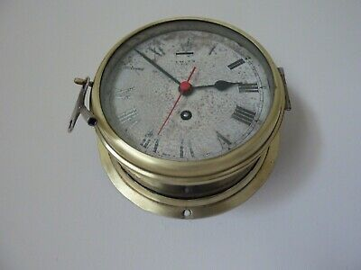 SMITHS ASTRAL 8 DAY  MARINE SHIPS CLOCK in G.W.O.