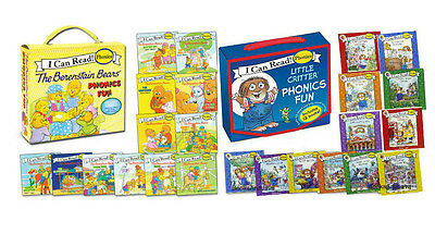 I Can Read Phonics Little Critter & Berenstain Bears Phonics Fun (2 Box Sets)
