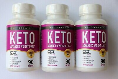Keto Diet Advanced Weight Loss - 90 Capsules