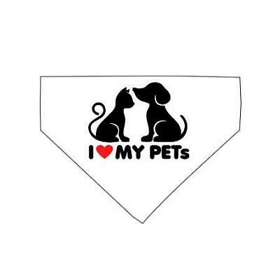 I Love my Pets - Pet Scarf