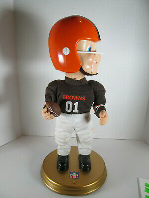 NFL Football Cleveland Browns Singing Dancing Monday Night Football Doll Figure