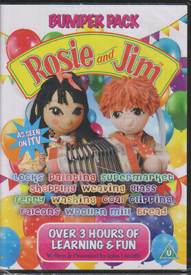 Rosie and Jim Bumper Pack (over 3 hours) 2 Discs New & Sealed UK R2 DVD