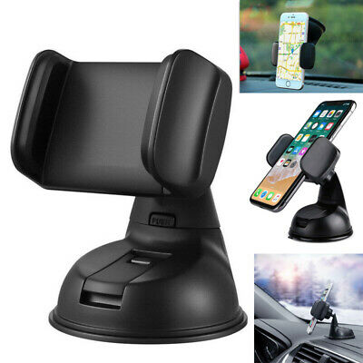 360 In Car Mobile Phone Holder Universal Mount Windscreen Dashboard Suction Home