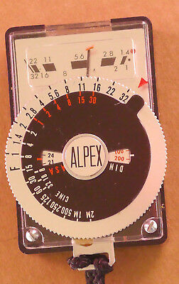 Alpex Mini Light Meter