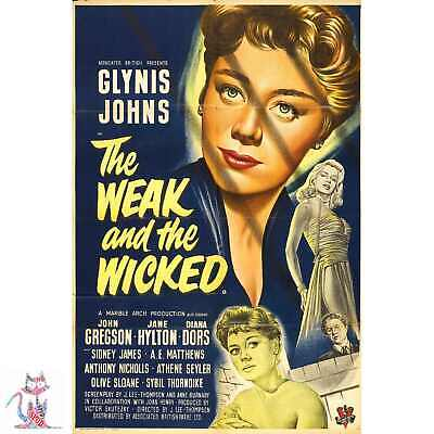 The Weak And The Wicked Canvas / Poster Similar to A1 A2 A3 A4