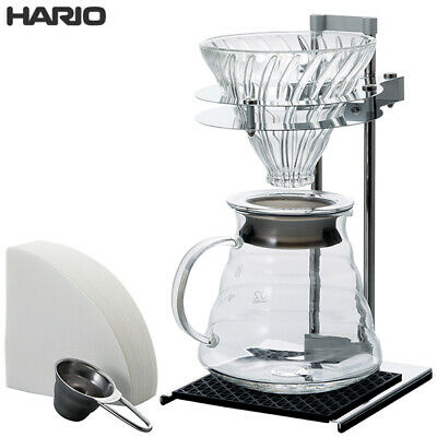 HARIO Coffee drip V60 Pour Over Stand Set VPOS-1506-SV Cool Design Fashionable