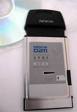 Nokia D211 PCMCIA GSM GPRS WLAN Wireless Lan Card Wi-Fi