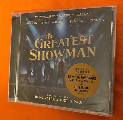 The Greatest Showman 2017 Original  Picture Soundtrack Music Audio CD New Sealed