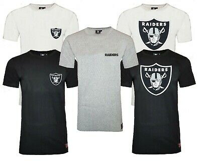 NFL Oakland Raiders T Shirt Mens ALL SIZES Longline Official Team Apparel Jersey