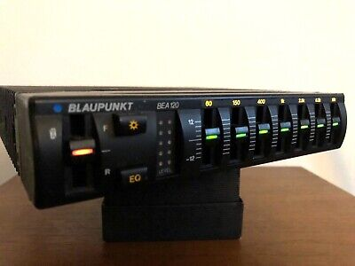 RETRO VINTAGE BLAUPUNKT BEA-120 GRAPHIC EQUALISER BOOSTER EQ 1980s 1990s
