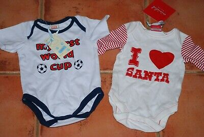 BNWT,  Mini Club, Boys, Girls, Unisex, Football, Christmas, Body NB, 3-6 months