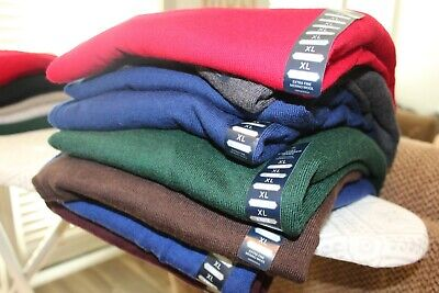 Hart Schaffner Marx Sweaters - Size Large - Ex Fine Merino Wool Various Colors