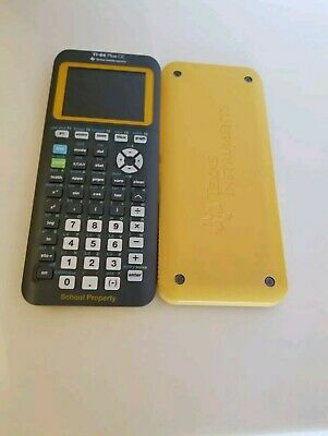 Texas Instruments Ti 84 Plus Ce School Edition Calculator With cover& Charger
