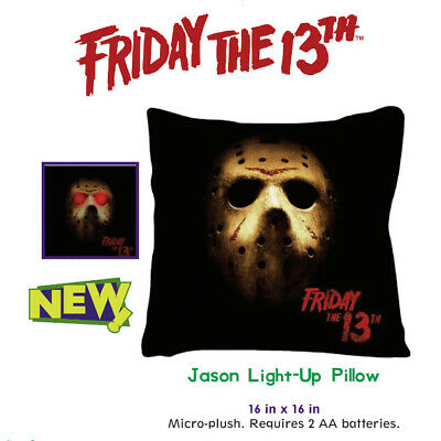 Friday the 13th Jason Voorhees Light-Up Throw Pillow 06JMO05