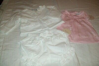 Baby girl clothes Spanish Patachou set age 6months - combined postage available