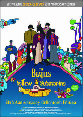 The Beatles Yellow Submarine 50th Anniversary Collector's Edition 2CD 2DVD Set