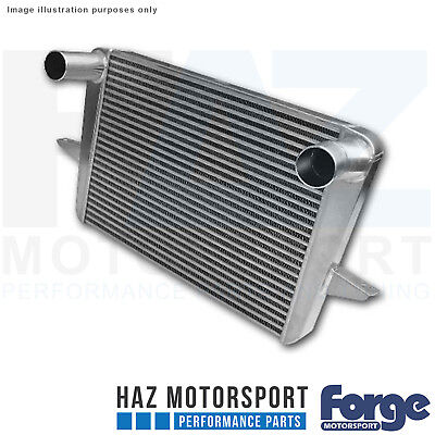 Forge Motorsport Alloy Intercooler + Black Hoses For Ford Sierra Cosworth RS 500