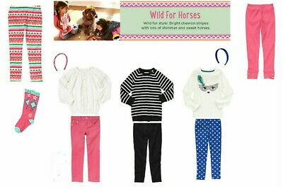 NWT Gymboree Wild For Horses Outfits and Pieces Size: 3-4, 4, 5, 6,