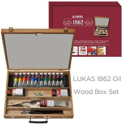 LUKAS 1862 Artists Oil Wood Box Set