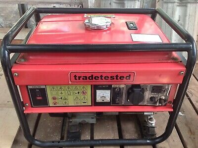 2.8Kw Petrol Generator/ As New Condition