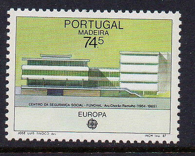 Portugal Maderia Stamps - Portugal Maderia 1987 Modern Architecture Europa