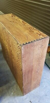 Victorian Solid Pine Book Case collection only