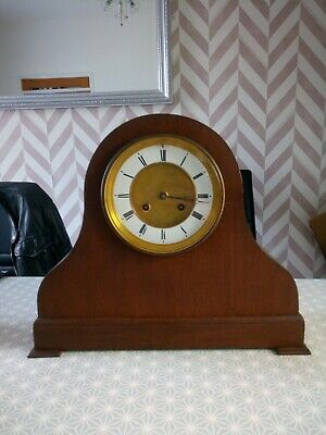 Fully working large French Achille Brocot Clock bell strike keeps excellent time