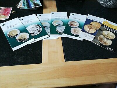 Lot Of Commerative Polish Coin Manuals