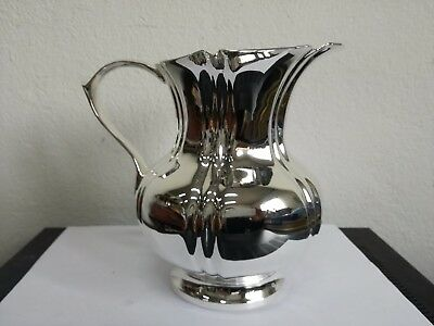 Old Jug in Silver Plated English Sheffield 1918 - 855 G Restored