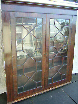 Antique Astral Glazed Cabinet/Bookcase
