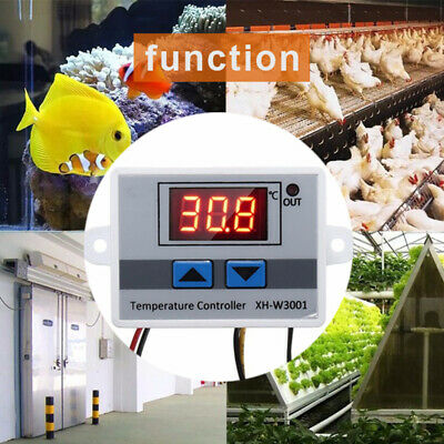 50 - 110°C LED Temperature Controller Digital Thermostat Control Display 10A