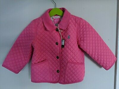 Joules Mabel Quilted Girls Jacket 2-3 Years