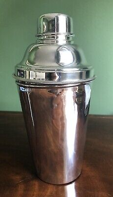 Cocktail Shaker Duchess Of Roxburghe Silver Plated Sothebys Provenance Antique