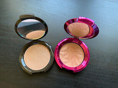 New Becca Shimmering Skin Perfector Pressed CHAMPAGNE POP & ROSE GLOW limited Ed