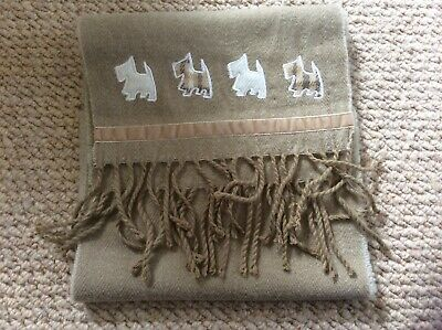 4 Colours Ladies Scarf Collection Scotty Dog Design Great Price! 91499