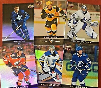 2019-20 Tim Hortons -base set, season events, game day action singles -You Pick