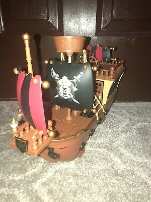 Disney Parks Mickey Mouse Pirates of the Caribbean Ship Deluxe Playset