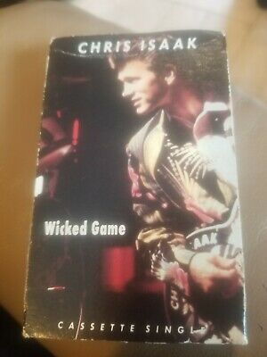 Chris Isaak Wicked Game Cassette Single