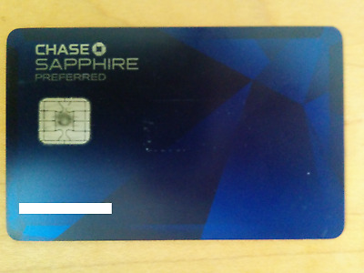 Expired Vintage Chase Sapphire Preferred Credit Card VISA Metal