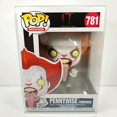 MINT It Chapter 2 Licking Tongue Funhouse Pennywise Clown Funko Pop! Figure 781