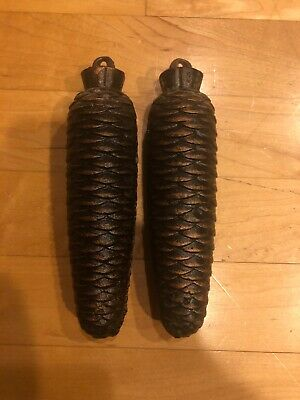 A Pair of German Black Forest Cuckoo Clock Weights See Pics For Weight & Length