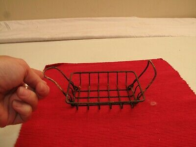 Antique Wire Farmhouse Sink Soap Dish Scrubby Sponge Holder