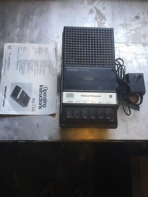 National Panasonic RQ-2106 Tape Recorder Working With Manual