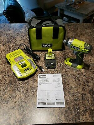 New Ryobi 18v One+ P236A Impact driver  lithium Battery / Charger & Bag