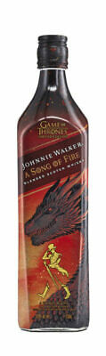 Johnnie Walker Song of Fire Game Of Thrones Scotch Whisky 700ml