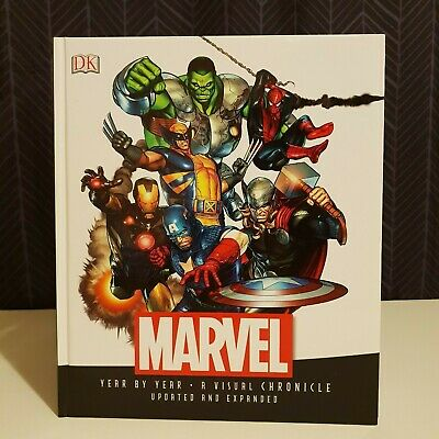Marvel - Year By Year - A Visual Chronicle - DK Books - Melb