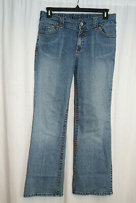 "Motherhood Maternity Womens Size M Inseam 31"" Bootcut Jeans B3"