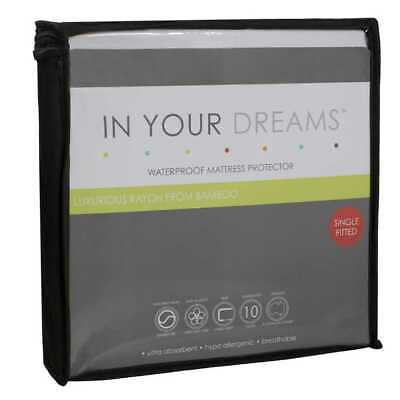 NEW In Your Dreams Bamboo Mattress Protector By Spotlight